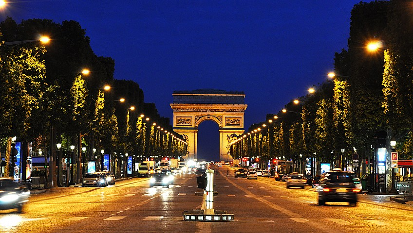 Removals to France, Champs Elysees